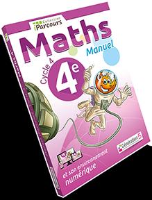 MANUELS iParcours Maths 4ème