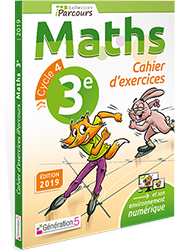 CAHIERS iParcours Maths 3ème