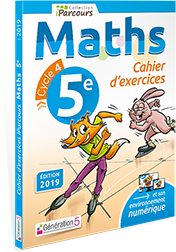 CAHIERS iParcours Maths 5ème