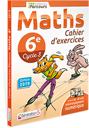 CAHIERS iParcours Maths 6ème